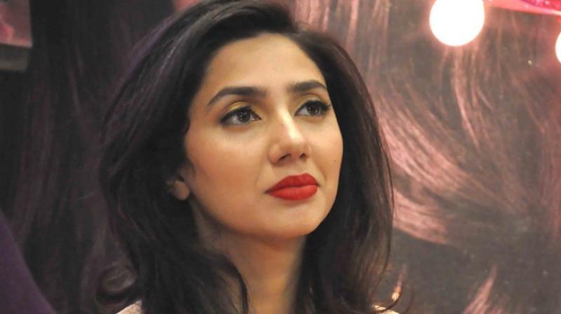 Pakistani actress Mahira Khan.