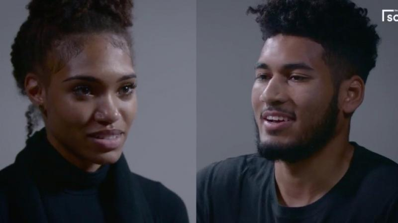 'Hurt Bae' confronting her ex about his infidelities has got Twitter super-emotional. (Credit: Twitter)