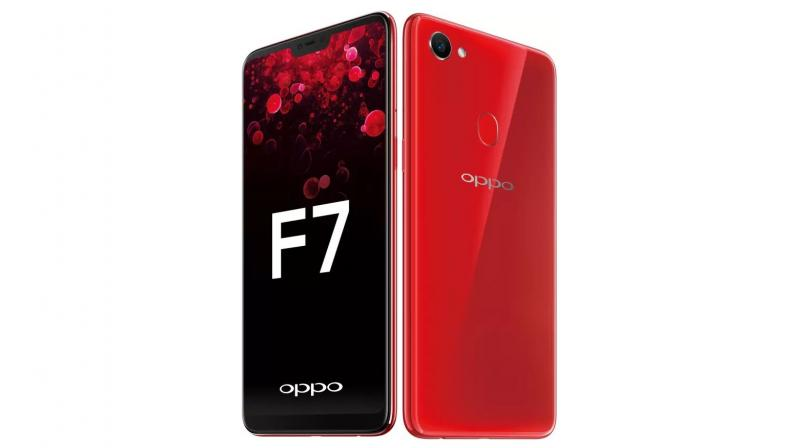 OPPO F7 with iPhone X-like notch, 25MP selfie camera launched in India
