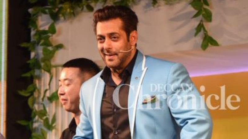 Salman Khan will be seen in 'Tiger Zinda Hai' later this year.