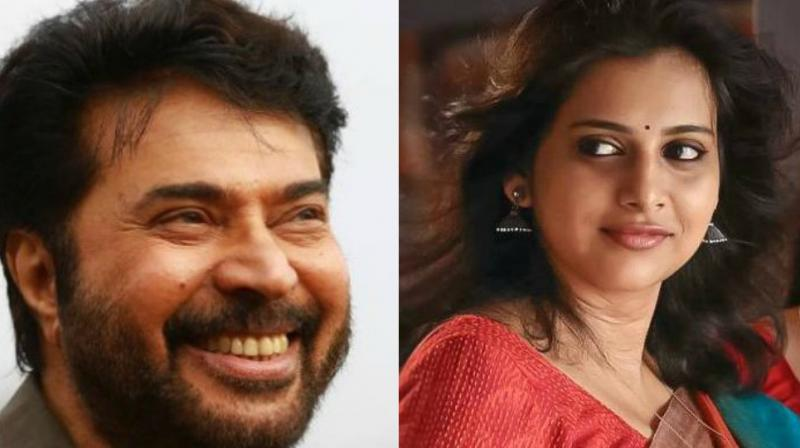 Anna Rajan expressed her wish to work with Mammootty and her son Dulquer Salmaan.