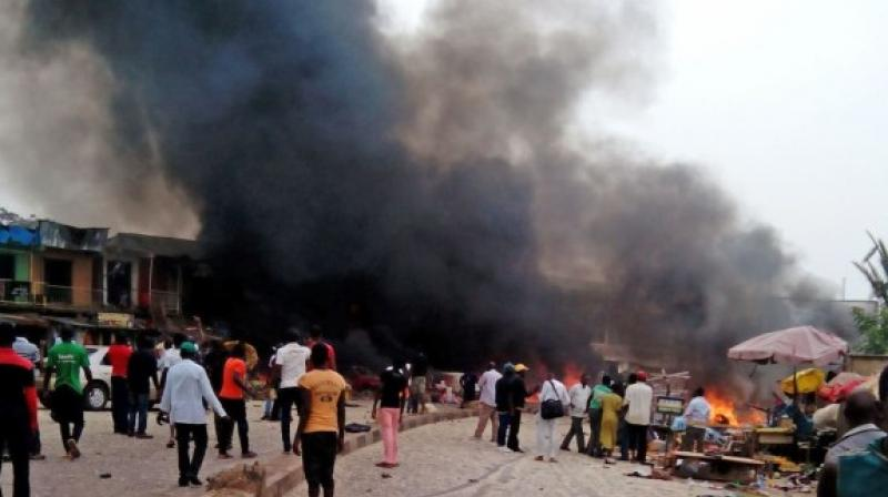 NEMA northeast region spokesman Abdulkadir Ibrahim said two female suicide bombers tried to get into the camp but were thwarted by security personnel. (Photo: AP/Representational)