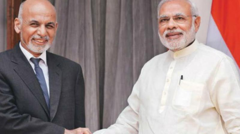 Afghan President Ashraf Ghani and Prime Minister Narendra Modi. (Photo: PTI)