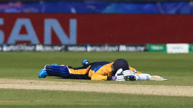 Sri Lanka lost a good chance of making it to the top four after the loss. (Photo: AFP)