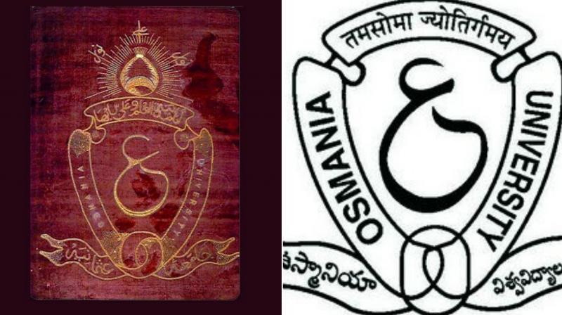 Dispute over logo at Hyderabad's Osmania University