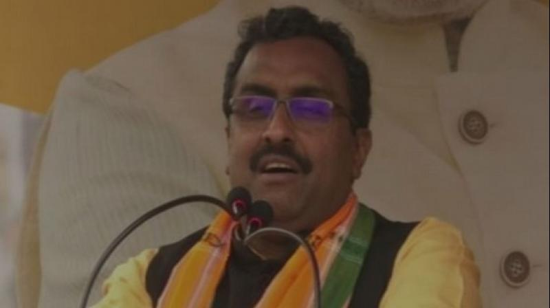 'If there is any party which has been in power for the longest duration it is Congress, it was Congress, which ruled the country after Independence from 1950 to 1977. I assure you that Modi Ji is going to break that record,' Madhav said. (Photo: ANI)