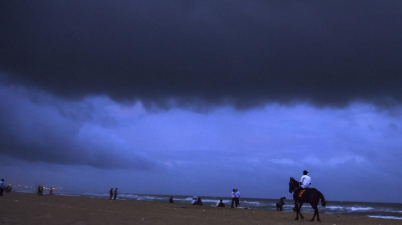 Severe cyclonic storm Gaja crossed the Tamil Nadu coast between Nagapattinam and nearby Vedaranniyam early Friday with wind speed gusting up to 120 kmph. (Photo: PTI)