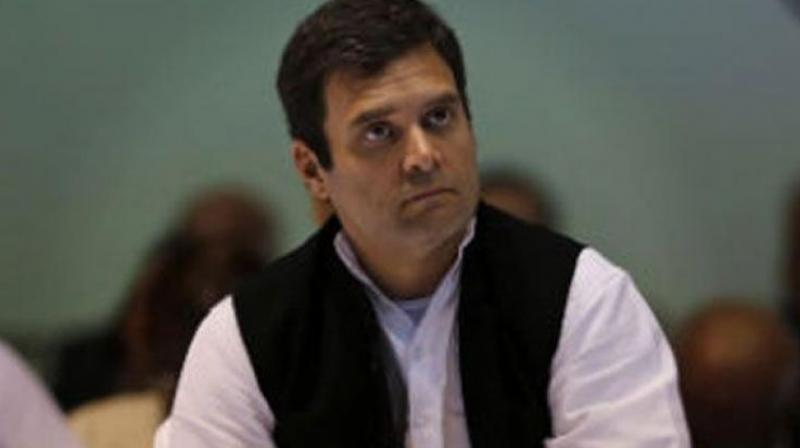 Congress president Rahul Gandhi on Friday cleared the appointment of nine new AICC secretaries and a screening committee for poll-bound Telangana. (Photo: File)