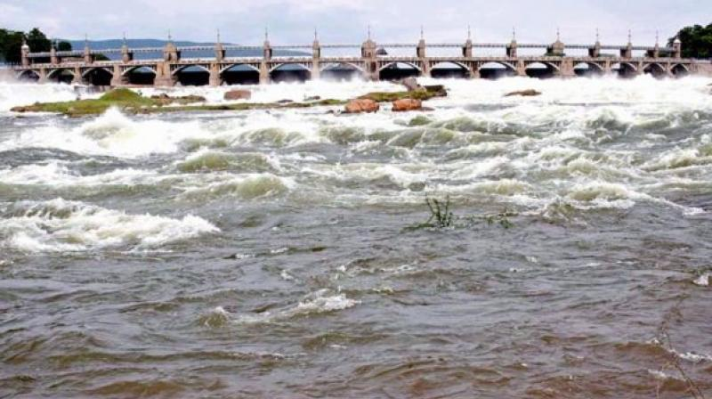 The Mettur dam reached its full reservoir level of 120 feet on Saturday afternoon.