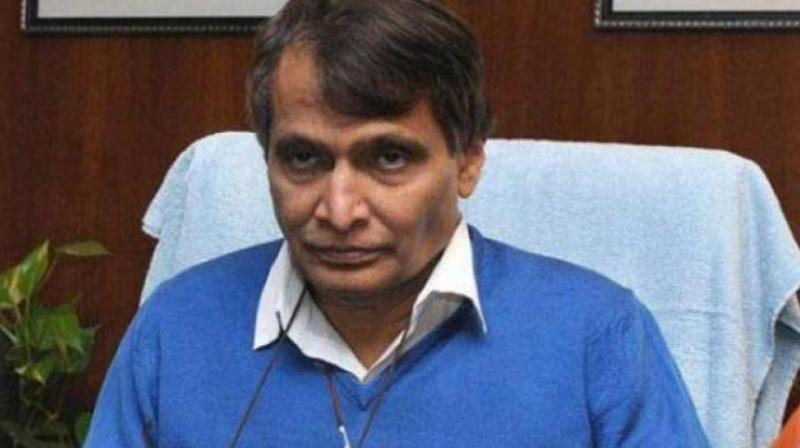 'We will need investments in all sectors, including infrastructure and agriculture among others. We will ensure that we can get liquidity and growth in India,' said Union Minister Suresh Prabhu. (Photo: File)