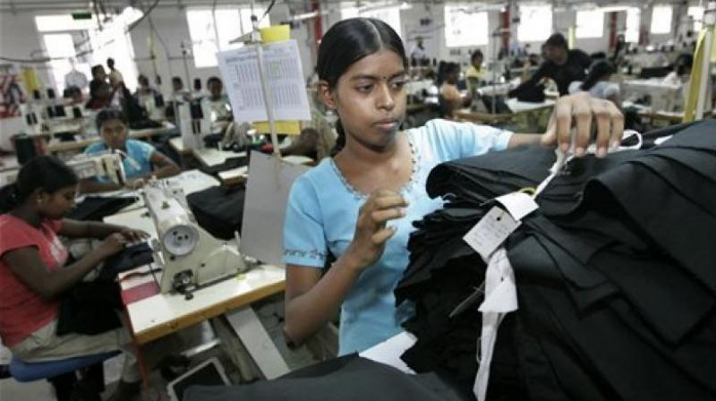 Dozens of global clothing firms are not complying with a plan to ensure better safety in Bangladesh garment factories following the deadly collapse of a building four years ago, a rights group said Monday. (Representational image)