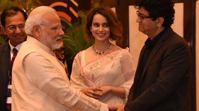 Image result for pm modi and bollywood actor kangana