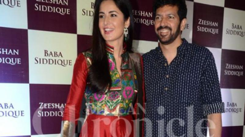 Katrina Kaif and Kabir Khan at Eid party.