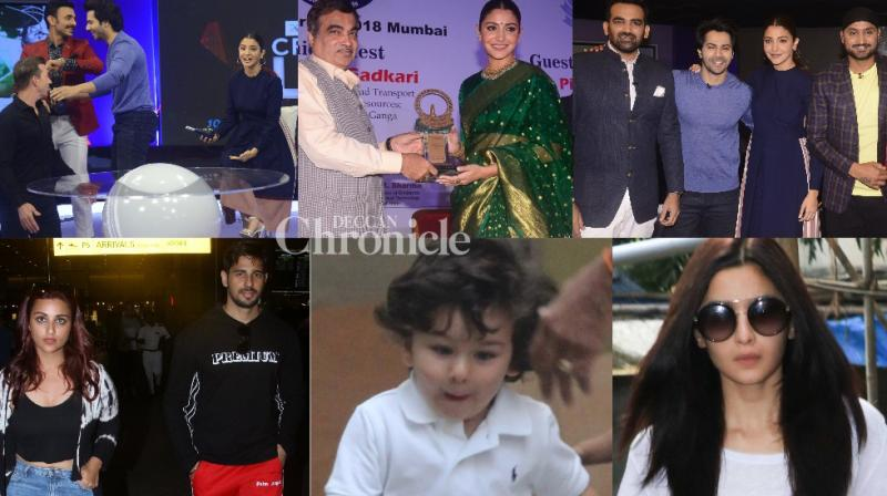 Bollywood stars went out and about in Mumbai city on Wednesday and were clicked by the cameras. (Photos: Viral Bhayani)
