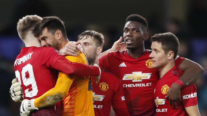 Pogba set up United's opening goal for Ander Herrera with a majestic cross and the France star added the second himself as Ole Gunnar Solskjaer's side produced a commanding display at Stamford Bridge. (Photo: AP)