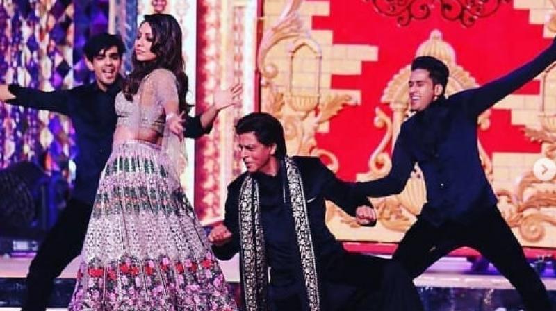 Isha Ambani pre-wedding bash: Shah Rukh-Gauri, Aishwarya-Abhishek perform at sangeet
