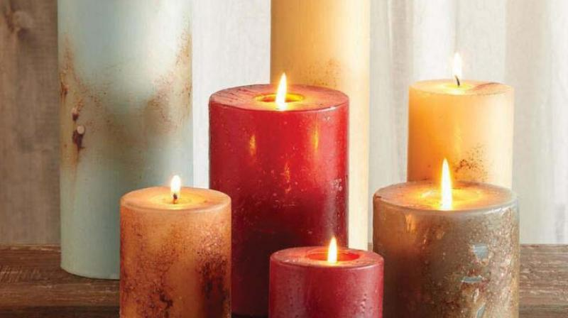 Candles, that natural light every home needs.