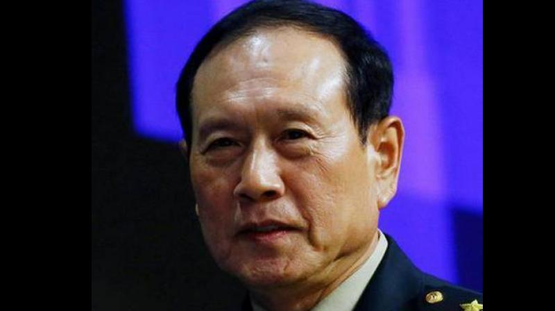 Defence Minister Wei Fenghe. (Photo Credit: Reuters)
