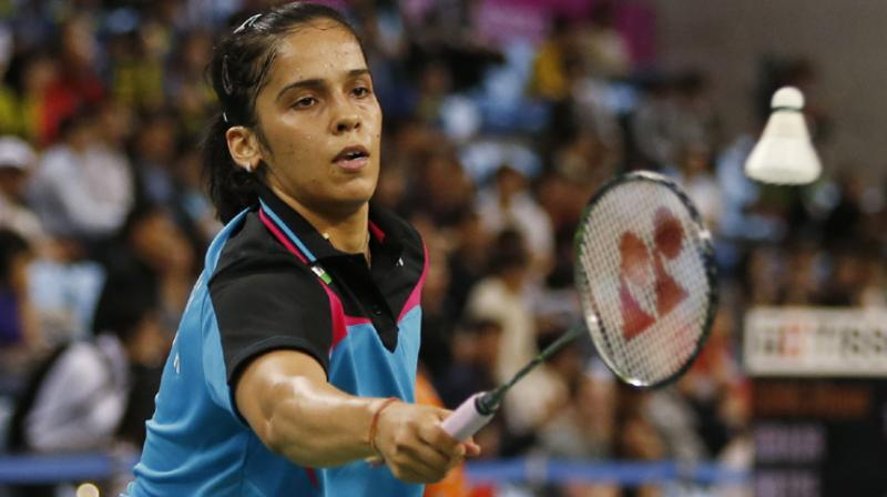 World No 11 Saina, who won the bronze at the World Championship, will next face a tough opponent in eighth seeded Chinese Chen Yufei, who had clinched the other bronze at the Glasgow tournament in August.(Photo: PTI)