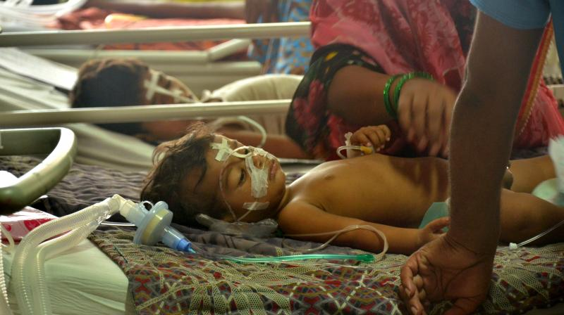 Earlier in the day, officials said 49 infants died between July 20 and August 21 in the Farrukhabad district hospital. (Photo: PTI/Representational)
