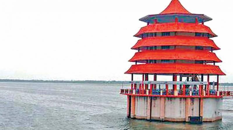 Chembarambakkam lake.