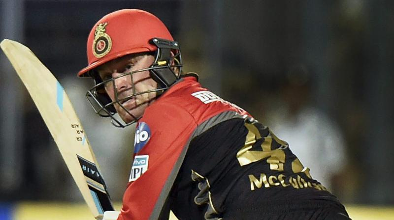 IPL 2018: RCB's Brendon McCullum becomes 2nd player in T20s