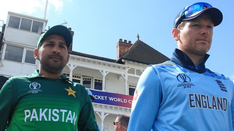 After beating South Africa at The Oval in London last Thursday to get their campaign off to a winning start, the hosts and pre-tournament favourites narrowly failed to reach the huge 349-run target set by Pakistan in Nottingham. (Photo:AFP)