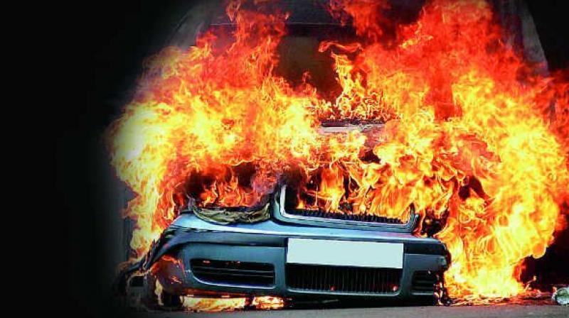 Witnesses said cars seemed to explode every couple of seconds when the fire was at its peak. (Representational Image)