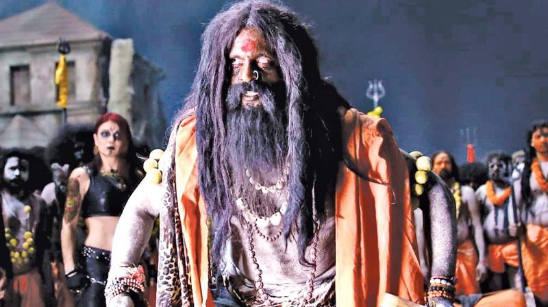 Sampath's aghori act garners accolades