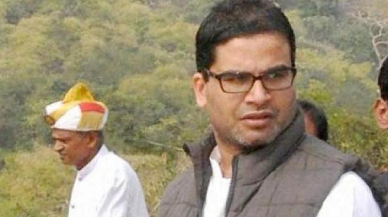 Prashant Kishor charged the TDP chief with having displayed