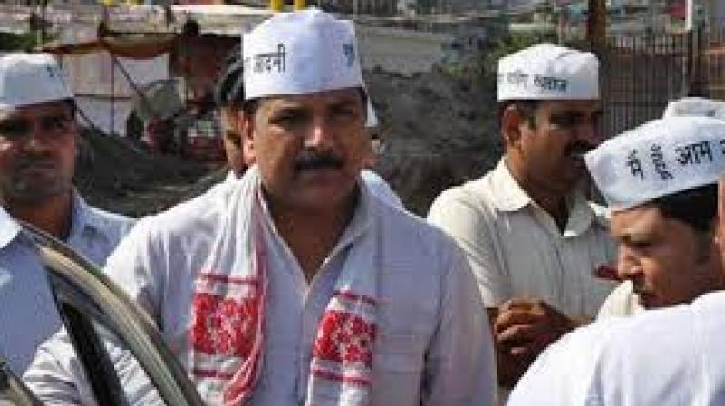 AAP national secretary and Punjab in-charge Sanjay Singh. (Photo: File)