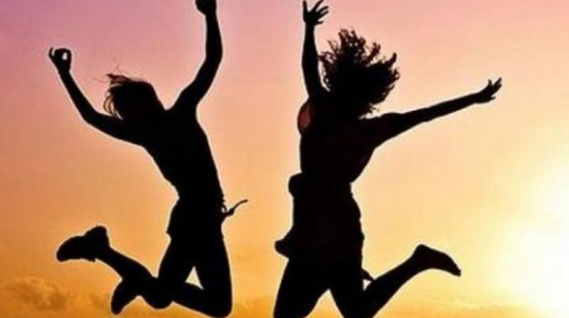 Happy people spread their feelings like fragrance around them. (Representational image)