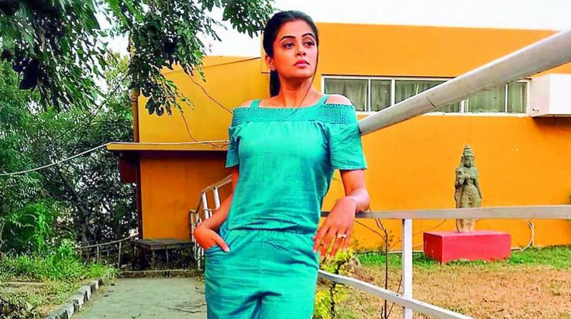 Actress Priyamani, who has not signed any Telugu film in recent times, has filed a complaint against the producer and director of the film Angulika for using her images to promote the film.