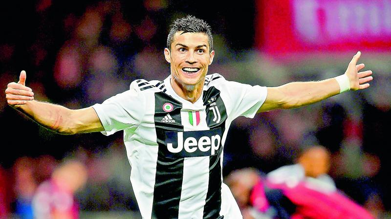 The 34-year-old Cristiano Ronaldo hit his 701st goal after 19 minutes. (Photo: File)