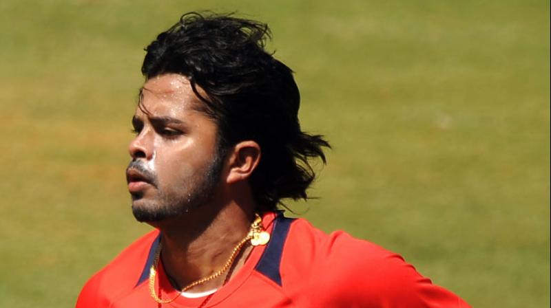 Sreesanth donated his earnings from a visit to Oman to the Indian blind cricket team. (Photo: AFP)