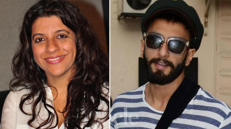 Ranveer Singh is all set to rap in Zoya Akhtar's 'Gully Boy'.