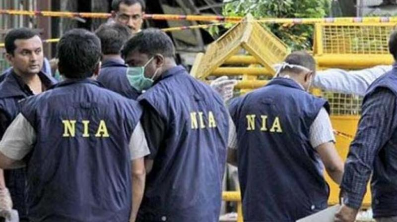 According to NIA, during the raid at the house in Chikkabanavara they seized five fabricated hand grenades, one timer device, three electric circuits, suspected explosive substance, different components for making IEDs/rockets and several other incriminating materials.