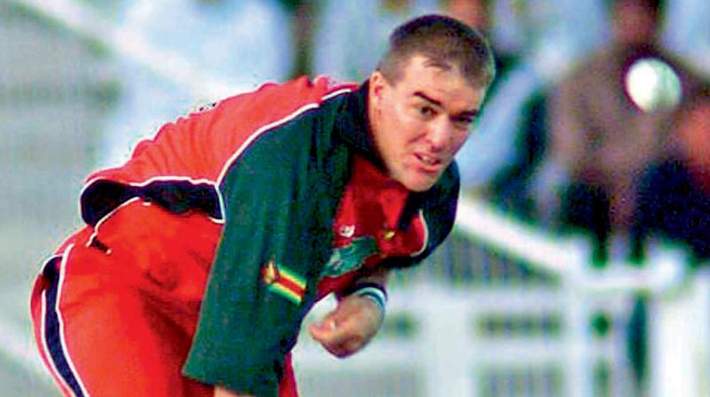 Former Zimbabwe fast bowler Heath Streak, who has coached several international players, brought a team of youngsters to play a few games in India. During their one-week stay in India, they played few matches in Mangalore. The notable among them was Codie Marillier, the son of ex-off spinner Dougie Marillier.