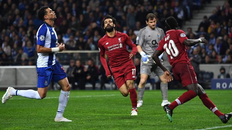 Five-times European champions Liverpool, who had produced a scintillating display to beat Porto 5-0 in the last-16 at the Dragao stadium last season, had a totally different approach this time. (Photo: AP)