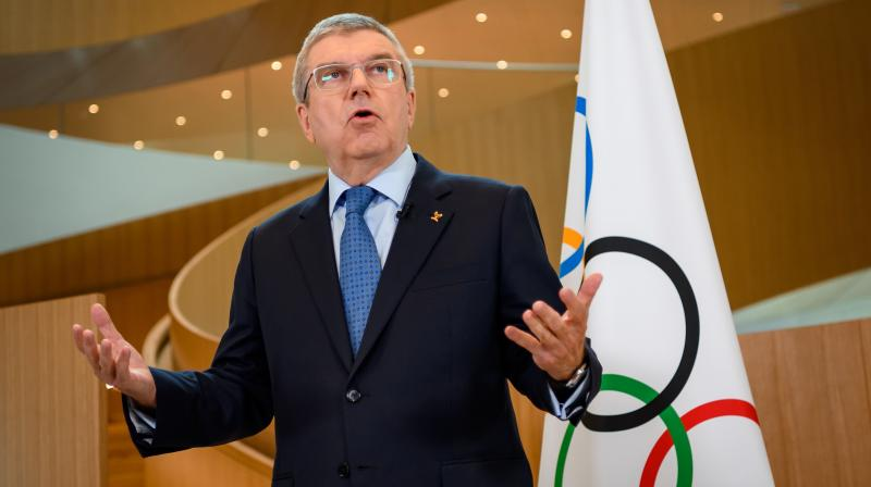 """Of course we are considering different scenarios, but we are contrary to many other sports organizations or professional leagues in that we are four-and-a-half months away from the Games.""  -- International Olympic Committee president Thomas Bach. AP Photo"