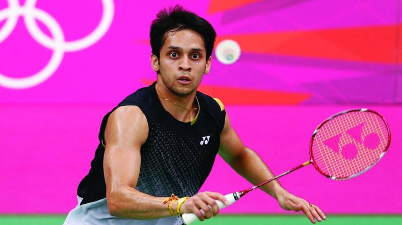 In the 37-minute long-encounter, Kashyap clinched the match in two straight games. (Photo: File)