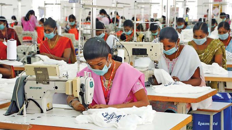 Garment factory in Tirupur