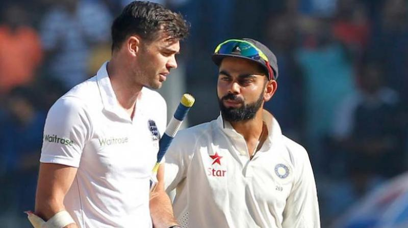 """""""Kohli is a more experienced player now. Quality player, no doubt about that. But English conditions are very tough. When you have got a bowler like Jimmy Anderson, who is bowling well now, it is going to be hard work,"""" said McGrath. (Photo: BCCI)"""