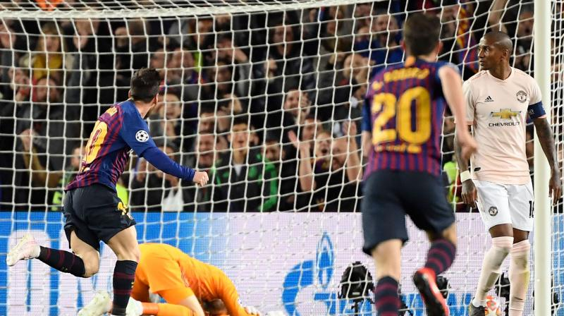 The Spanish goalkeeper was left embarrassed for Messi's second goal as the Argentine's tame shot crept under his body. (Photo: AFP)