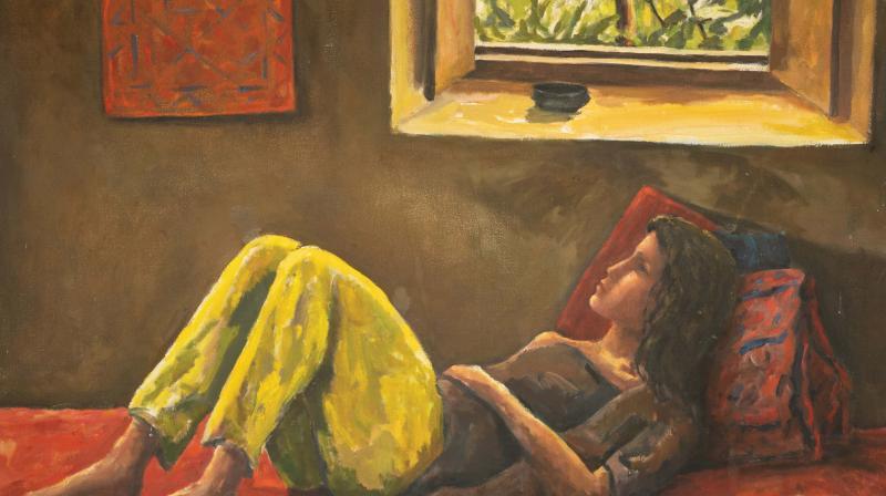 Adam Shapiro's painting.