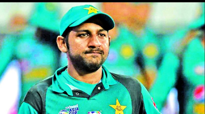 In April 2016, Sarfaraz was appointed Pakistan captain for the T20Is before being elevated as ODI captain in early 2017. (Photo: File)