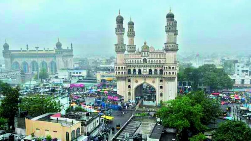 According to the Telangana Social Development Report- 2017, about half of the total population of Muslims in the state is residing in Hyderabad district.