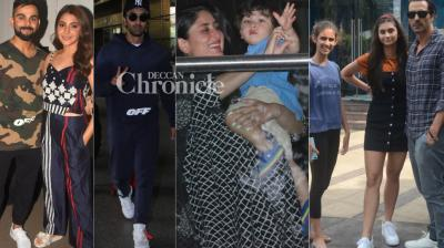 B-Town stars should be thanked for stepping out in Mumbai on Friday, and bringing a smile on paparazzi and their fans' faces. (Photos: Viral Bhayani)