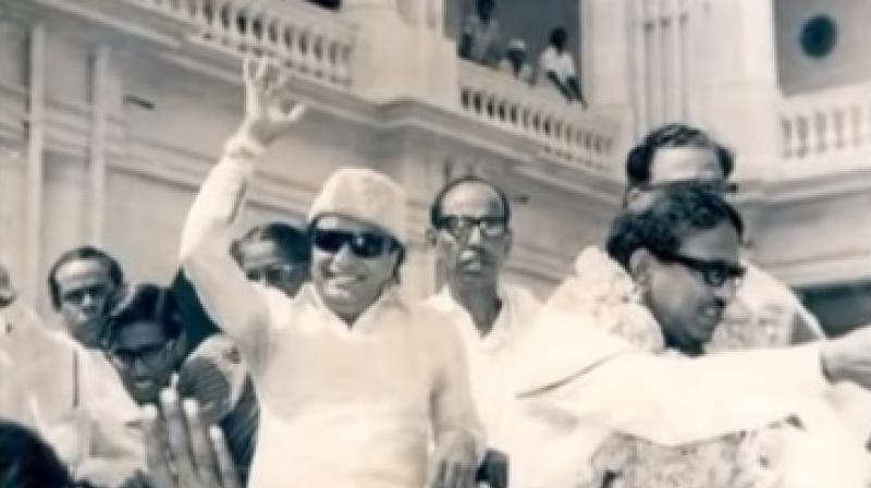 The DMK head served as the chief minister of Tamil Nadu for five separate terms in the 1969–2011 period. (Photo: Youtube screengrab)