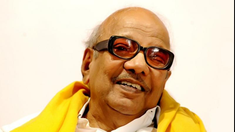 Former Chief Minister of Tamil Nadu, M. Karunanidhi